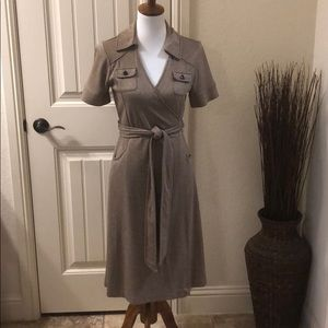 Banana Republic Wrap Dress - Size Medium